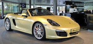 The new Porsche Boxter S