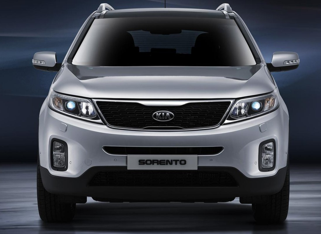 kia 39 s new sorento unveiled. Black Bedroom Furniture Sets. Home Design Ideas