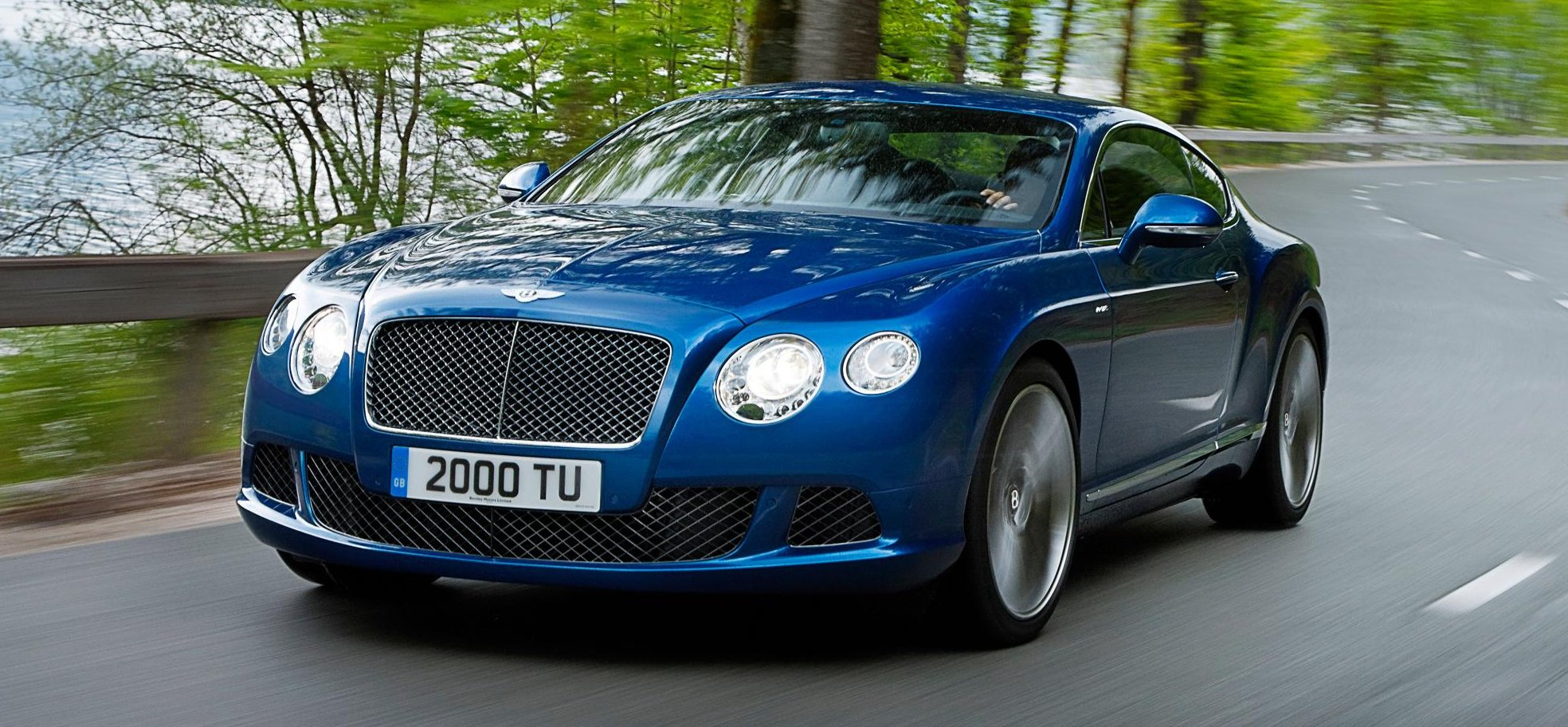 The new Bentley Continental GT Speed takes a bow