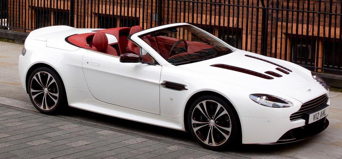 Aston Martin V Vantage Roadster - Lease aston martin