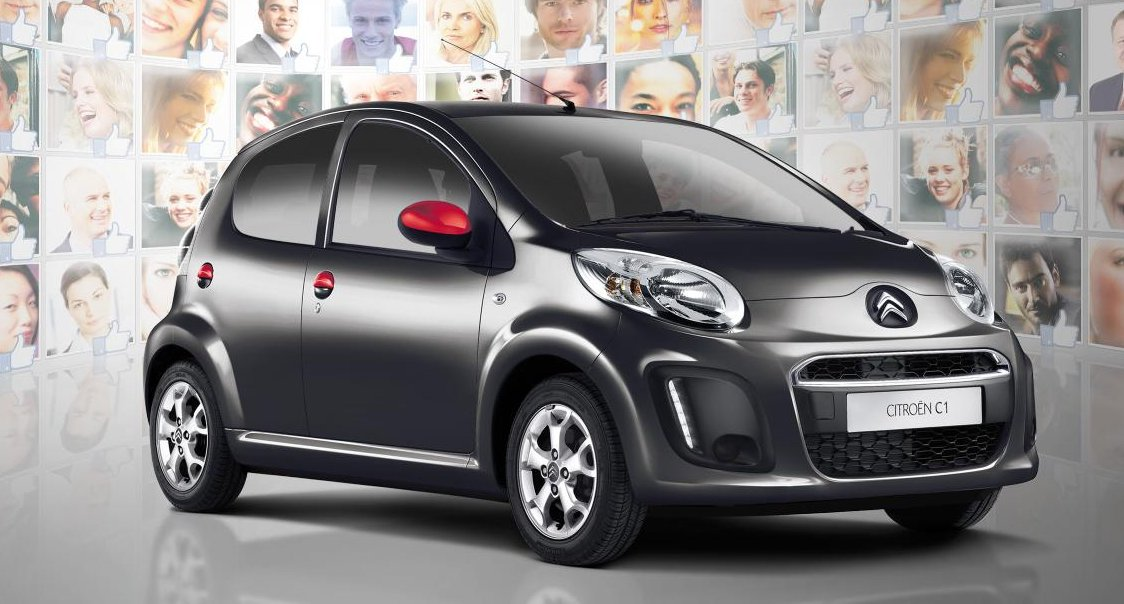 Crowd-sourced' Citroen C1 unveiled