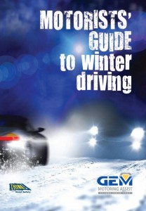 GEM Winter Driving leaflet cover