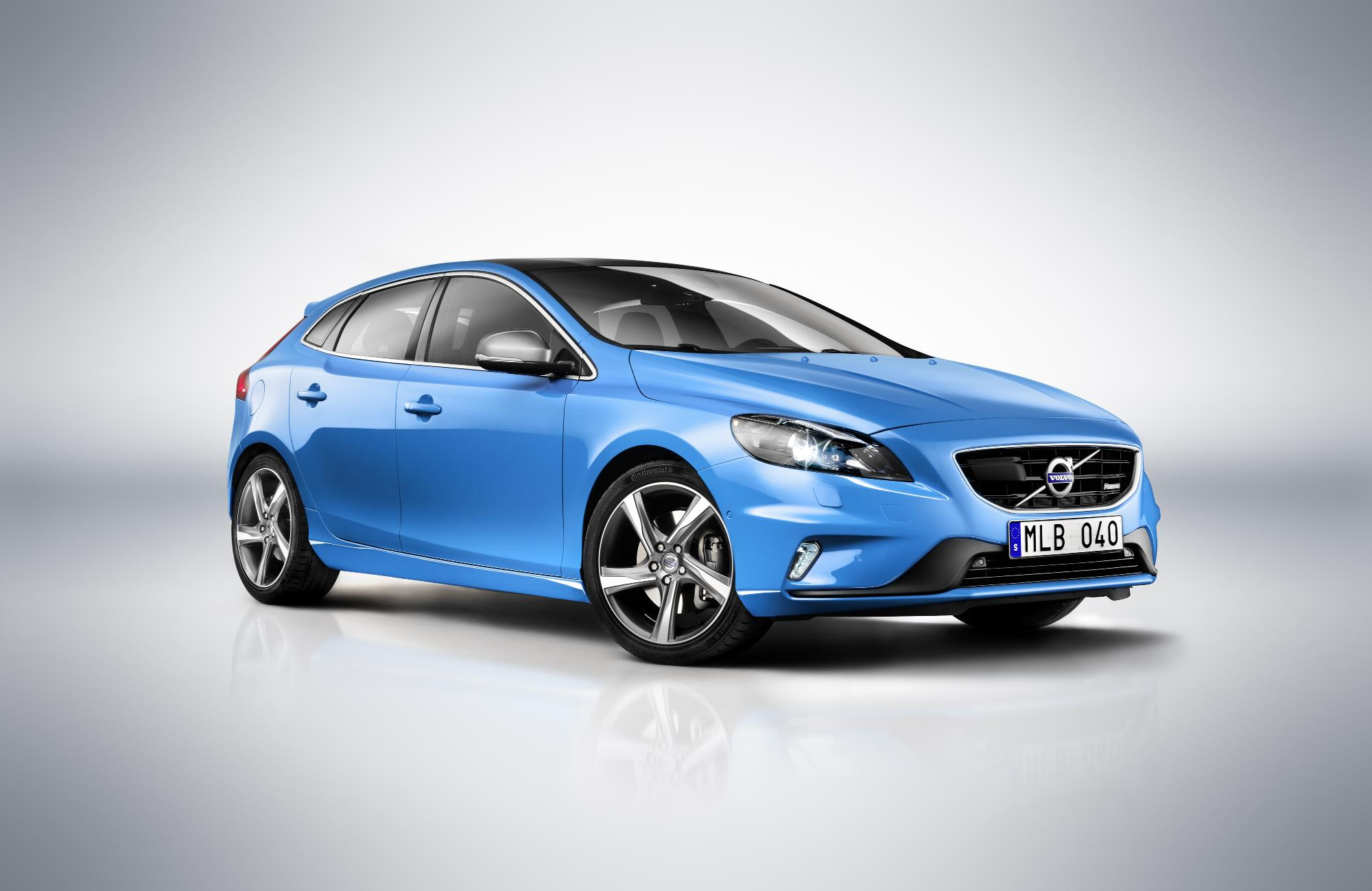 volvo s all new v40 r design. Black Bedroom Furniture Sets. Home Design Ideas