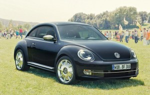 The new VW Beetle Fender