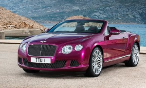 The Continental GT Speed Convertible