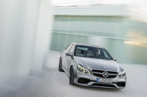 The new Mercedes E63 AMG