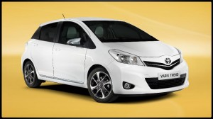 The Toyota Yaris Trend