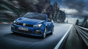 VW's new Golf R Cabriolet