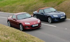 Mazda2 and Mazda MX5