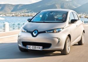 Renault Zoe ECO car