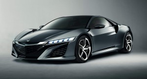 The Honda NSX