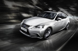 The Lexus IS 300h