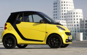 The Smart fortwo cityflame