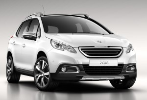 The impressive Peugeot 2008 Crossover - prices announced