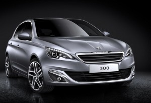 The new Peugeot 308 2014