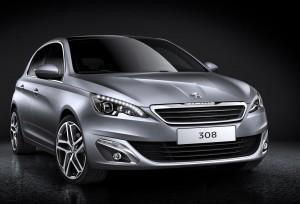 The new Peugeot 308 2014