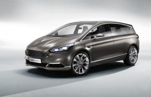 Ford unveils potential successor for its S-Max