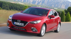 Lease the new Mazda3