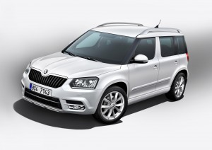 The popular Skoda Yeti has been revamped