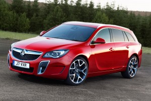 The Vauxhall Insignia VXR SuperSport