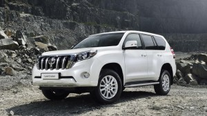 the 2014 Toyota Land Cruiser