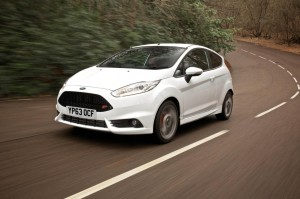Ford Fiesta with automatic gearbox