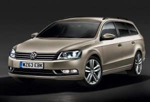 VW Passat boosted with kit