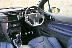 Interior Citroen DS3