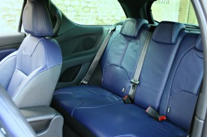 Backseat Citroen DS3