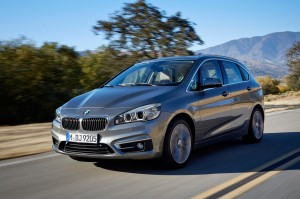 BMW 2 Series Active Tourer has front wheel drive