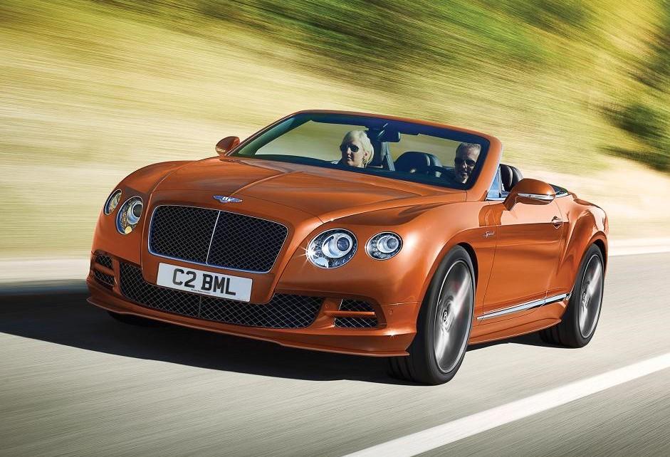 Lease the Bentley GT Speed