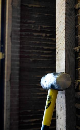 A sledgehammer