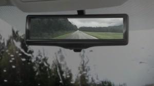 Nissan develops the Smart rearview mirror
