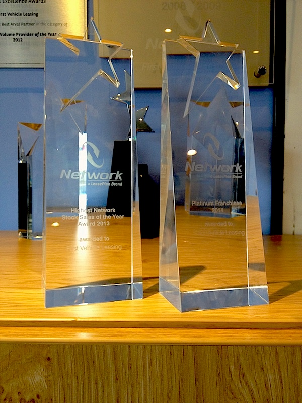 Two new awards in the trophy cabinet at First Vehicle Leasing