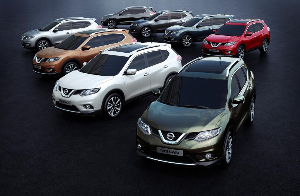 New Nissan X-Trail range announced
