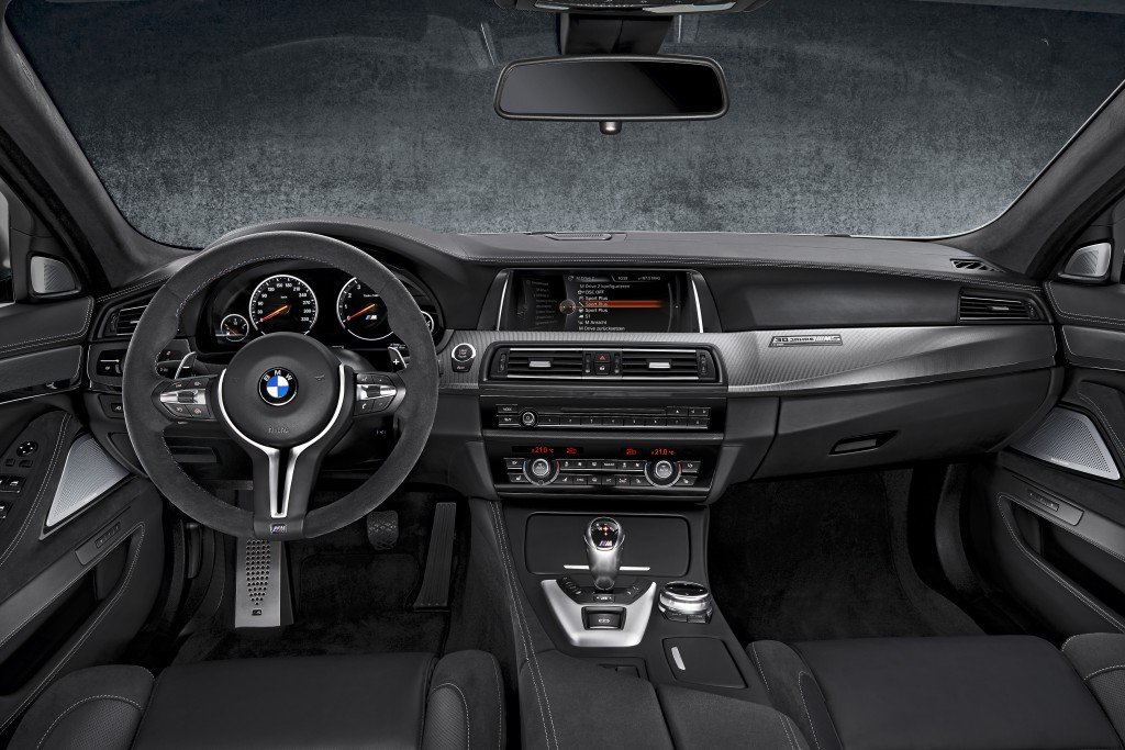 Interior of the new 30 Jahre Edition
