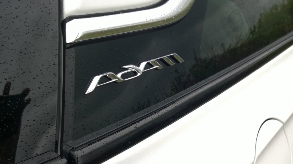 Badge on Vauxhall Adam White Edition
