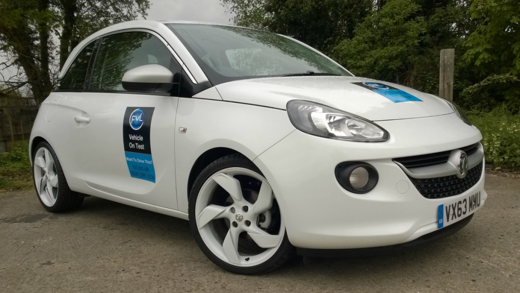 Vauxhall Adam White Edition reviewed for FVL
