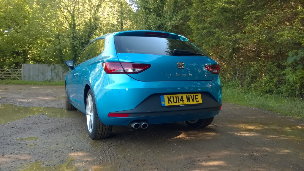 SEAT Leon FR review: rear view