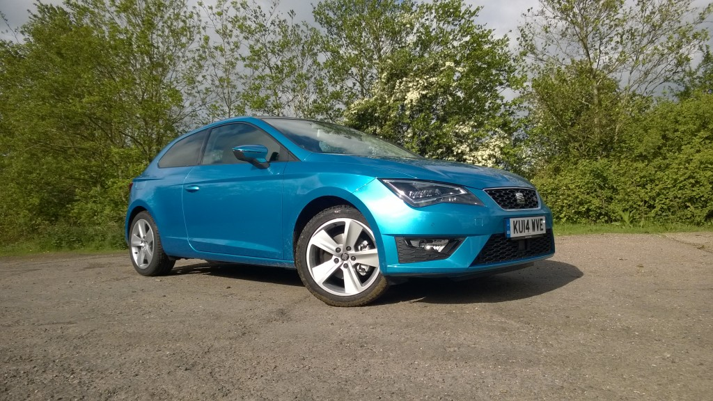 SEAT Leon FR review: blue hatchback