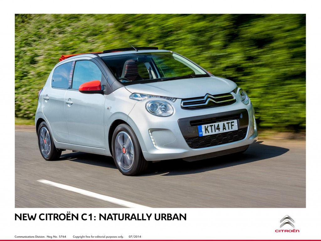 New Citroën C1
