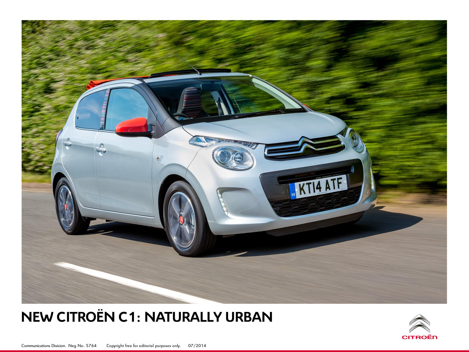 new citroen c1 is unveiled. Black Bedroom Furniture Sets. Home Design Ideas