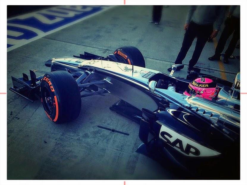 Jenson Button at Silverstone