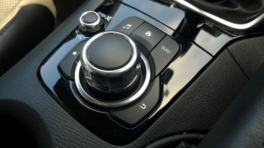 Mazda 3 central controls