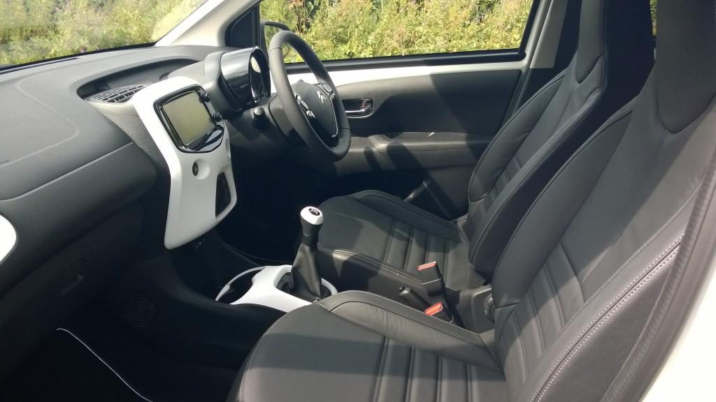 Citroen C1 interior. Click for hi-res image