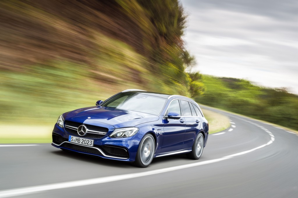 The new Mercedes-AMG C 63