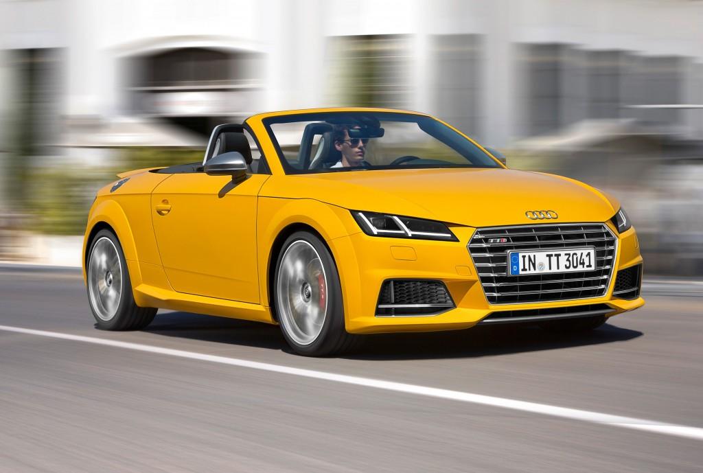 The Audi TTS Roadster