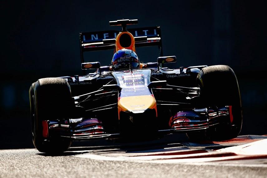 Sebastian Vettel in Abu Dhabi.