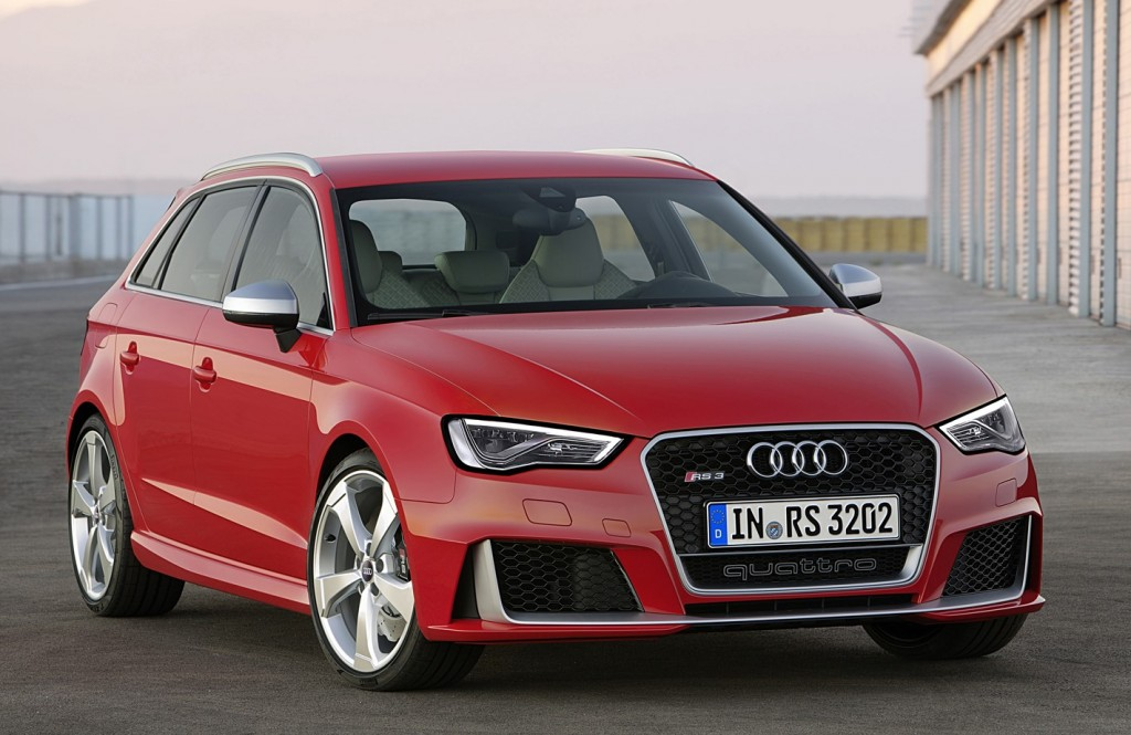 The new Audi RS 3 Sportback