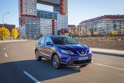 Nissan Qashqai - safest in its class